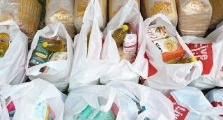 Voedselpakketten inzamelen
